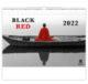 Calendar Black Red