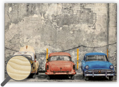 Wooden Picture Cars  (O011)