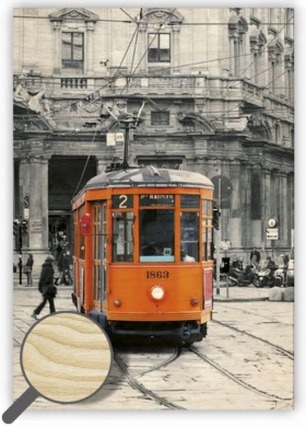 Wooden Picture Tram(O013)