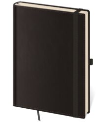 Notebook Double Black M lined