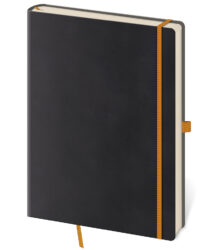 Notebook Flexies L blank black