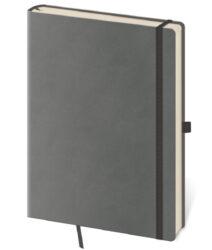 Notebook Flexies L blank grey