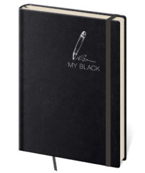 Notebook My Black L blank
