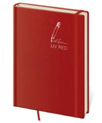 Zápisník My Red L tečkovaný