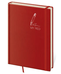 Notebook My Red M dot grid