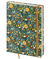 Notebook Vario L dot grid design 6 - Format: 143 x 205 mm