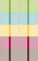 Notebook Vario L dot grid design 7(BV425-7)