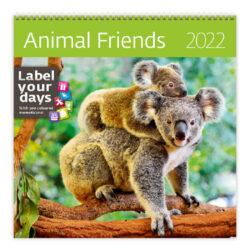 Calendar Animal Friends