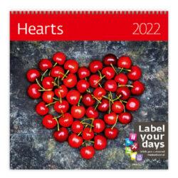 Calendar Hearts