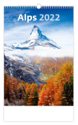 Calendar Alps - Size: 31,5 x 45 cm