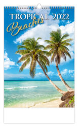 Calendar Tropical Beaches - Size: 31,5 x 45 cm