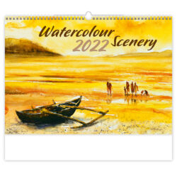 Calendar Watercolour Scenery