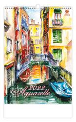 Calendar Aquarelle