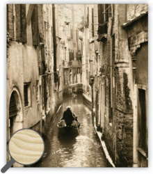 Wooden Picture Venezia-45 x 52 cm picture  1 picture on wood   1 hook for hanging the picture Name tag