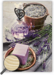 Wooden Picture Provence-Every piece is an original – there is a picture printed on a wooden material with natural structure. 34 x 48,5 picture  1 picture on wood   1 hook for hanging the picture Name tag