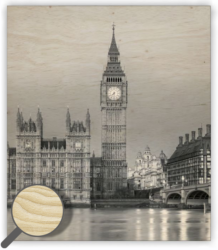 Wooden Picture Big Ben