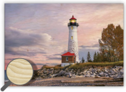 Wooden Picture Lighthouse - 48,5 x 34 cm picture 