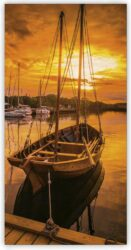 Wooden Picture Sunset(O017)