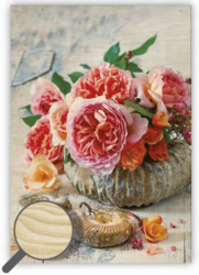 Wooden Picture Shell - Every piece is an original – there is a picture printed on a wooden material with natural structure.