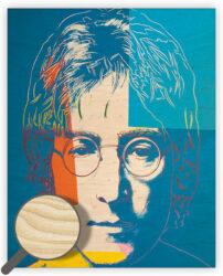 Wooden Picture John Lennon