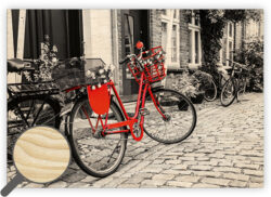 Wooden Picture Bicycle