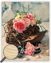 Wooden Picture Roses