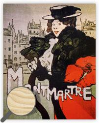 Wooden Picture Montmartre