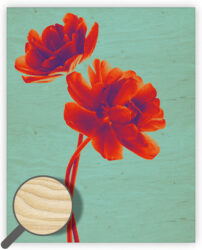 Wooden Picture Tulip