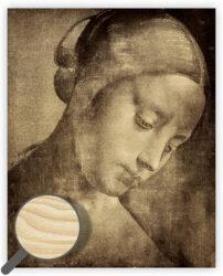 Wooden Picture Da Vinci