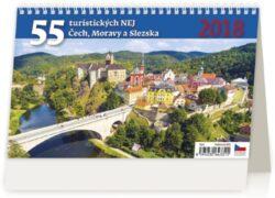 55 turistických nej Čech, Moravy a Slezska